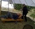 Mr. Greg (standing) Mr. Sachin Bhatia (Laying down)