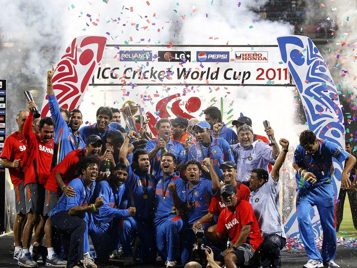 cricket world cup 2011 champions pictures. Wins ICC World Cup 2011